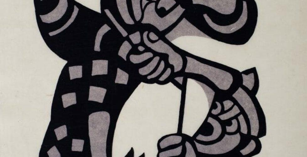Festival Dancer_stencil_1973