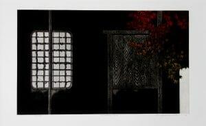 Hamanishi Katsunori Window No 439 of 70 Mezzotint_