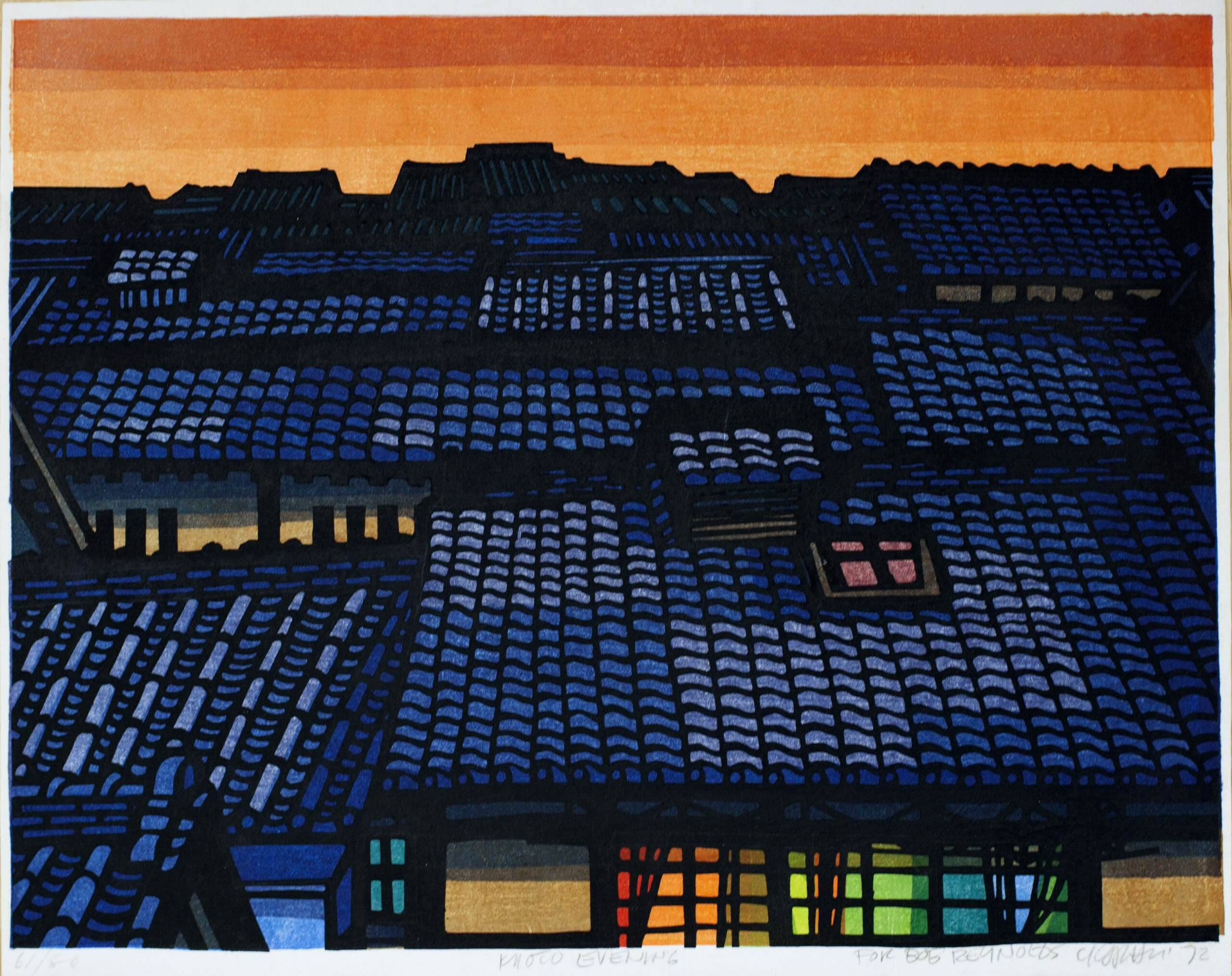 Kyoto Evening_ed61:80_1972_12x15.5